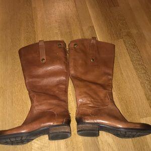 Sam Edelman Light Brown/Tan Riding Boots Size 7.5